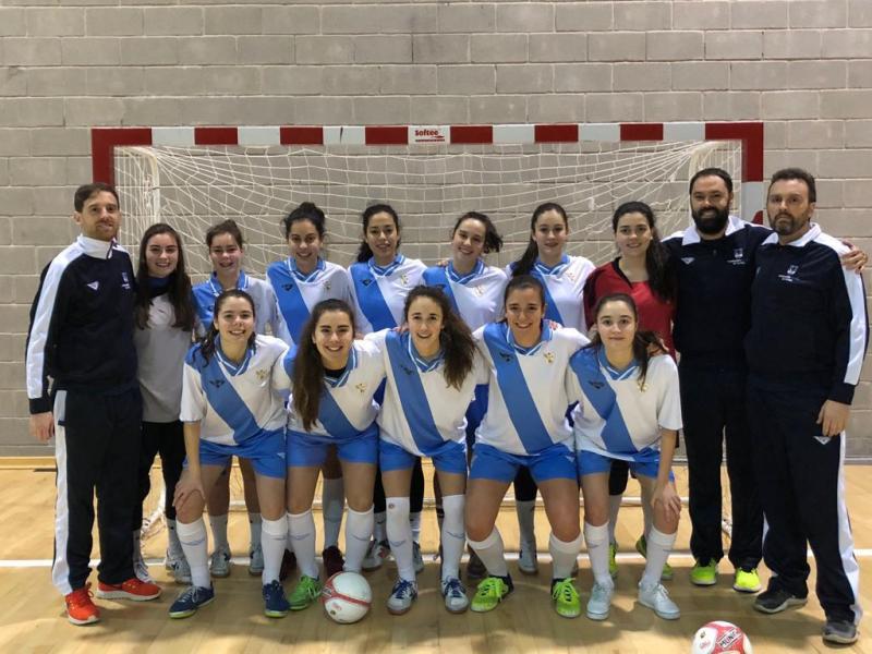 1e1e0cd8c1 A S20 feminina de futsal disputa este fin de semana a Fase Final do Cto.  España Galicia xogará contra Andalucía este sábado ás 16 30 e a outra  semifinal ...